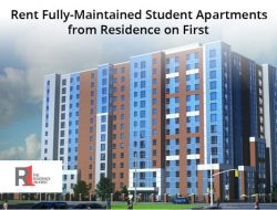 Rent Fully-Maintained Student Apartments from Residence on First