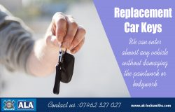 Replacement Car Keys | Call – 07462 327 027 | uk-locksmiths.com