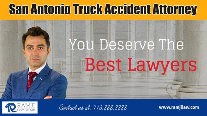 San Antonio Truck Accident Attorney|https://www.ramjilaw.com/