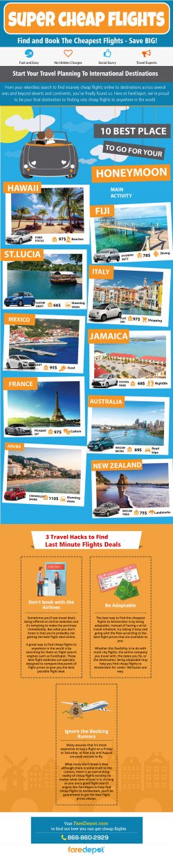 Super Cheap Flights | 8668602929 | faredepot.com