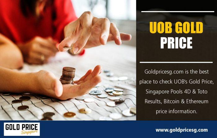 UOB Gold price