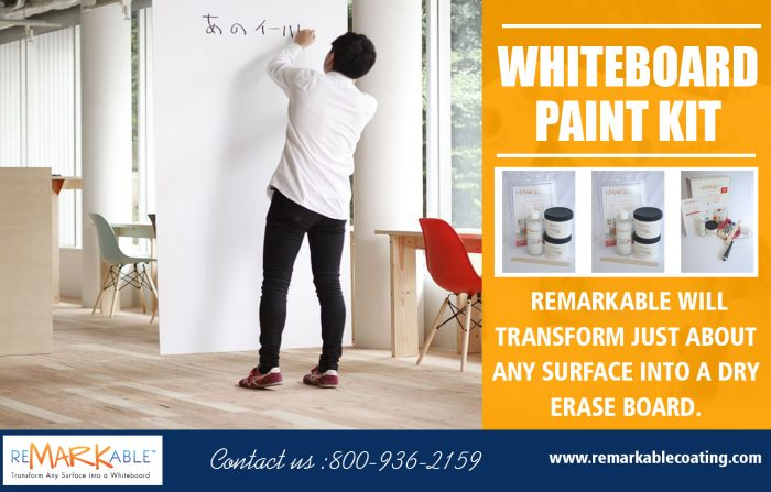 Whiteboard Paint Kit