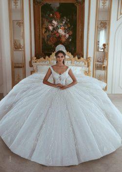 Luxus Brautkleider A Linie Weiß Prinzessin Brautkleider Günstig Online