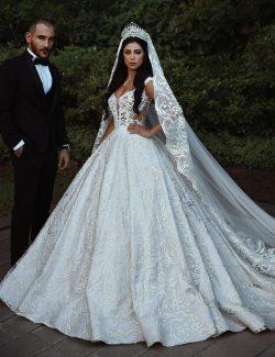 Modern Weiße Hochzeitskleider A Linie Spitze Brautkleider Online Kaufen