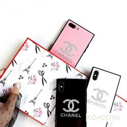 iphonexs/xrケース シャネル オシャレ レディース iphonex/xsmax 鏡面ケース 人気 可愛い CHANEL iphon ...