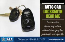 Auto Car Locksmith near me