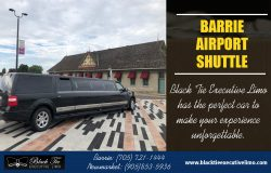 Barrie Airport Shuttle | Call – 705-721-1444 | blacktieexecutivelimo.com