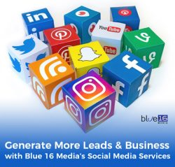 Generate More Leads & Business with Blue 16 Media's Social Media Services