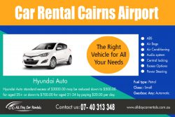 Car Rental Cairns Airport