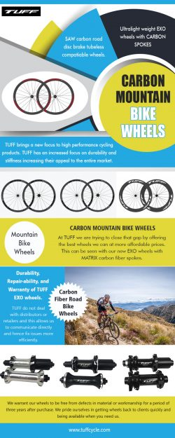Carbon Mountainbike Wheels | tuffcycle.com