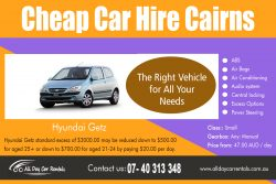 Cheap Car Hire Cairns
