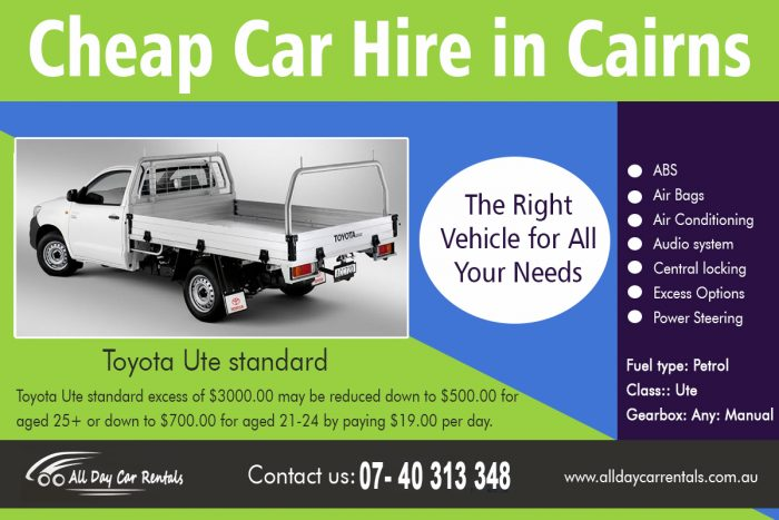 Cheap Car Hire in cairns