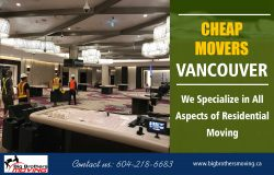 Cheap Movers Vancouver