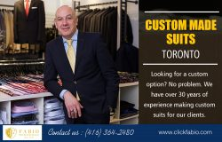 Custom Made Suits Toronto | Call – (416) 364-2480 | clickfabio.com