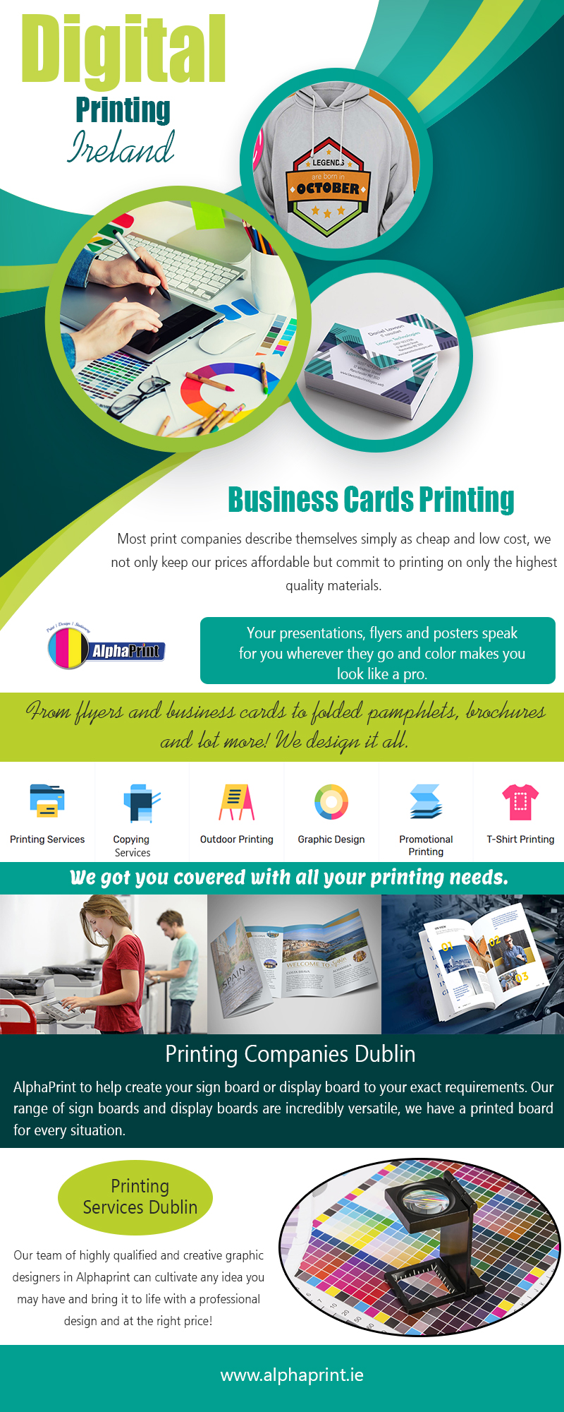 Digital Printing Ireland | Call – 01 426 4844 | alphaprint.ie