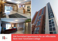Get Furnished Apartments for an Affordable Rent near Fanshawe College