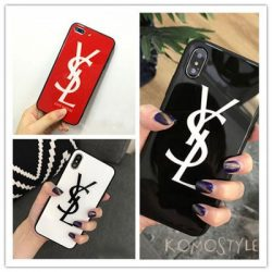 イヴサンローラン iphoneXRケース 鏡面 ファッション アイホンテンエスブランドケース YSL iphoneXケー ...