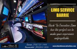 Limo Service Barrie | Call – 705-721-1444 | blacktieexecutivelimo.com