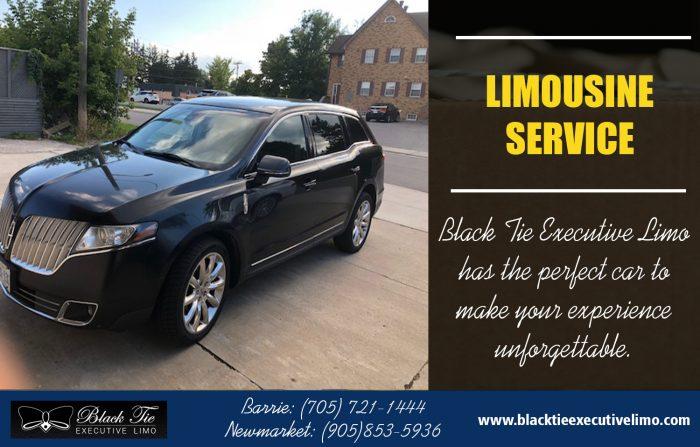 Limousine Service | Call – 705-721-1444 | blacktieexecutivelimo.com