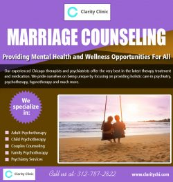 Marriage Counseling | claritychi.com | Call – 312-787-2822