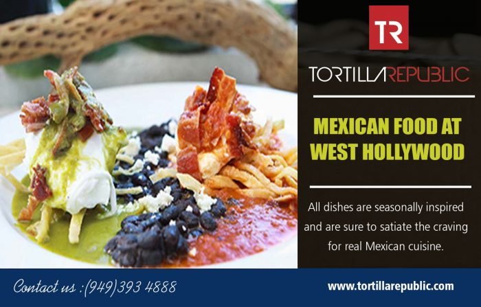 Mexican Food At West Hollywood