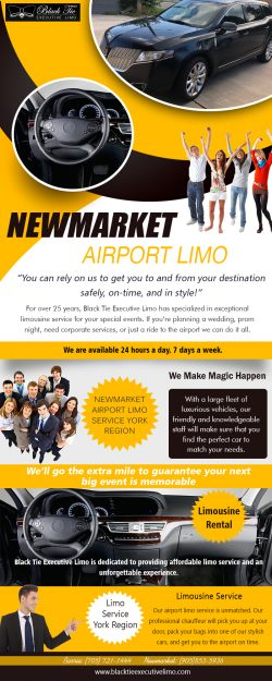 Newmarket Airport Limo Service York Region | Call – 705-721-1444 | blacktieexecutivelimo.com