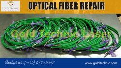 Optical fiber repair