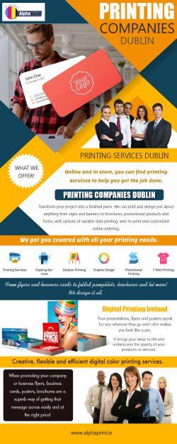 Printing Company Dublin | Call – 01 426 4844 | alphaprint.ie