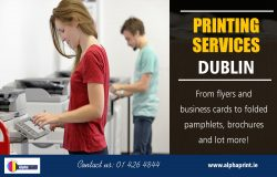 Printing Services Dublin | Call – 01 426 4844 | alphaprint.ie
