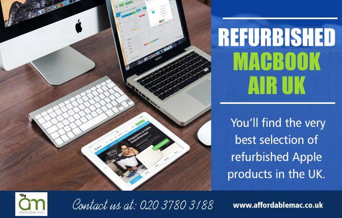 Refurbished Macbook Air UK | Call – 020 3780 3188 | affordablemac.co.uk