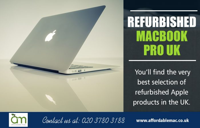 Refurbished Macbook Pro UK | Call – 020 3780 3188 | affordablemac.co.uk
