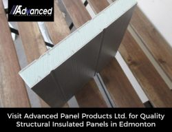 Visit Advanced Panel Products Ltd. for Quality Structural Insulated Panels in Edmonton