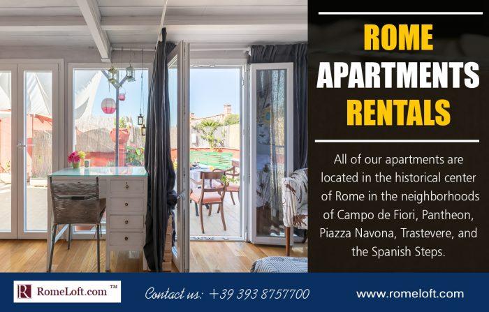 Rome Apartments Rentals
