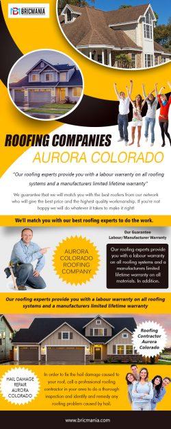 Roofing Companies Aurora Colorado