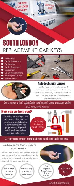 South London CarKeys Replacement Cost