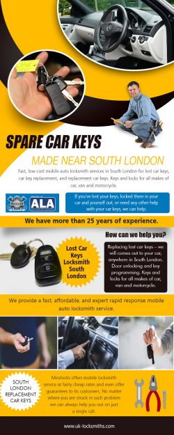 spare carkeys made in South London