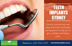 Teeth Implants Sydney | Call – 02 9566 2030 | www.dentalcareglebe.com.au