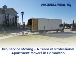 Pro Service Moving – A Team of Professional Apartment Movers in Edmonton