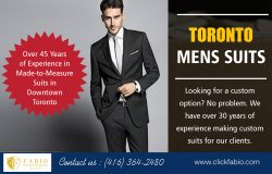 Toronto Mens Suits | Call – (416) 364-2480 | clickfabio.com