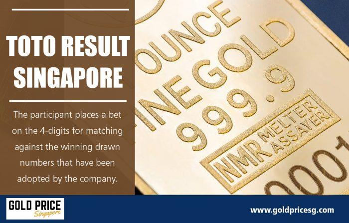 Toto Result Singapore