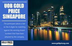 UOB Gold Price Singapore