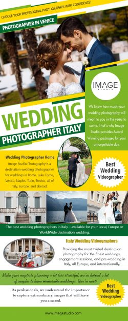 Wedding photographer Italy