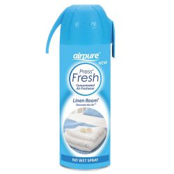 Airpure Press Fresh Concentrated Air Freshener Linen Room 180ml –