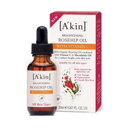 A'kin Rosehip Oil with Vitamin C 20ml