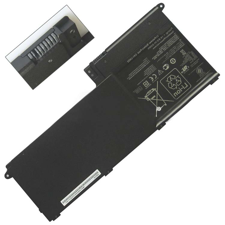 Replacement Laptop Battery For Asus C41-UX52