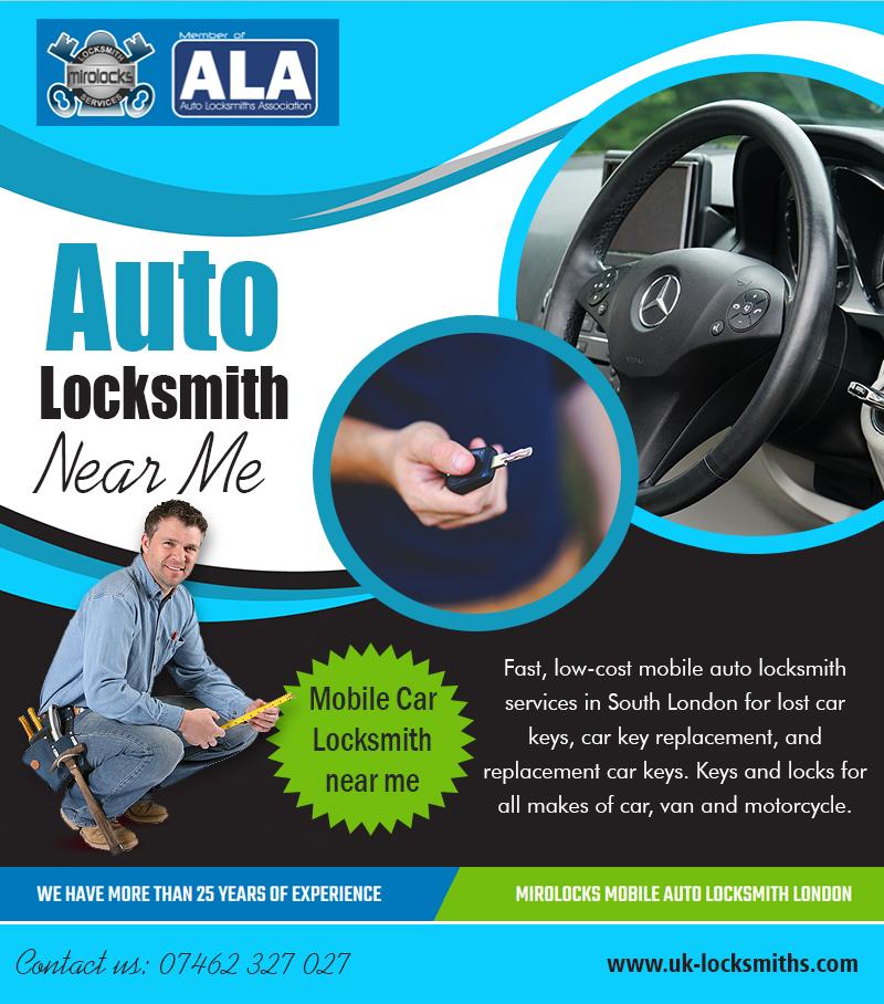 Auto Locksmith near me | Call – 07462 327 027 | uk-locksmiths.com