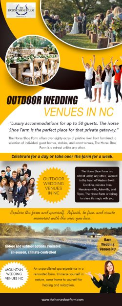 Barn Wedding Venues NC | Call – 828-393-3034 | thehorseshoefarm.com