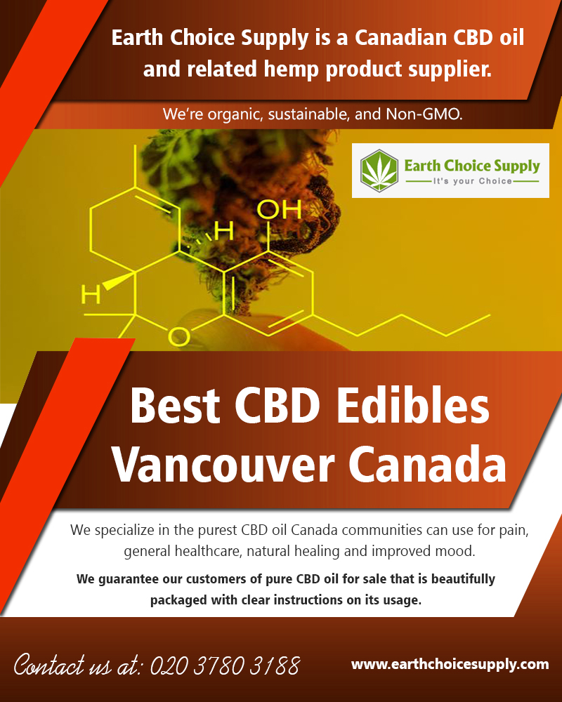 Best CBD Edibles Vancouver Canada | earthchoicesupply.com