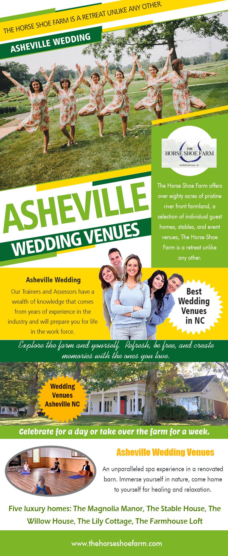 Best Wedding Venues In NC | Call – 828-393-3034 | thehorseshoefarm.com
