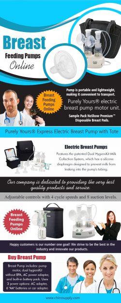Breast Feeding Pumps Online   8775639660   chirosupply.com
